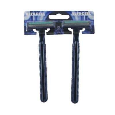 Aparelho de Barbear Alfacell Descartavel com 2 unidades
