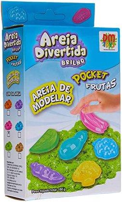 Areia Divert Brilho Pocket Frutas