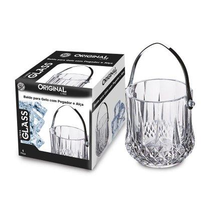 Balde para Gelo 1,1 litros com Pegador e Alça