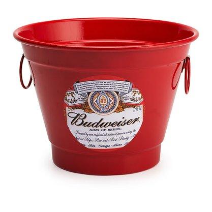 Balde para Gelo 6 Litros Estampa Budweiser