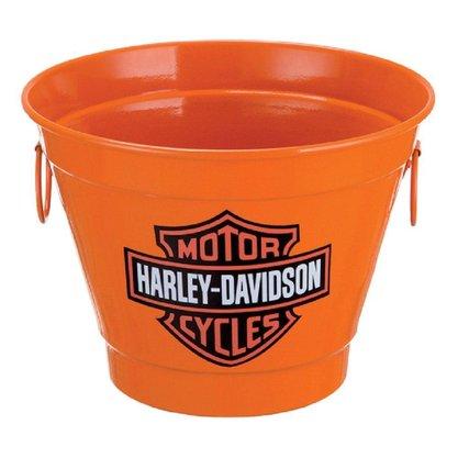 Balde para Gelo 6 Litros Estampa Harley Davidson