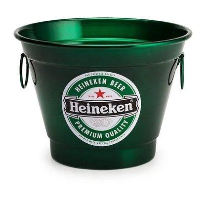 Balde para Gelo 6 Litros Estampa Heineken