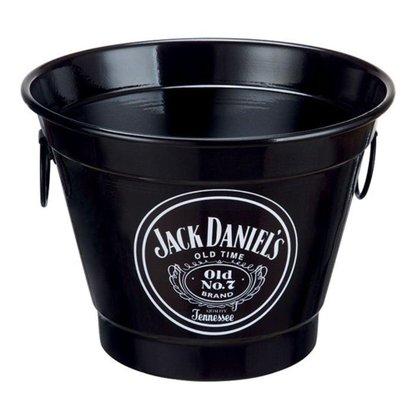 Balde para Gelo 6 Litros Estampa Jack Daniels