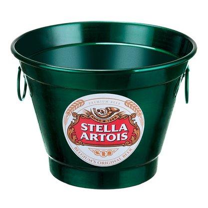 Balde para Gelo 6 Litros Estampa Stella Artois
