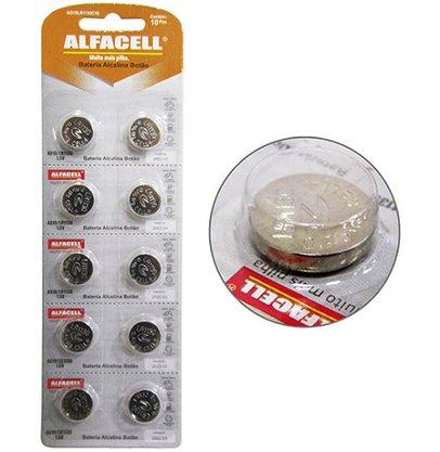 Bateria Alfacell alcalina 1,5 volts AG10 LR11