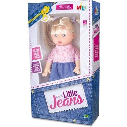 Boneca Colecao Little Jeans Loira