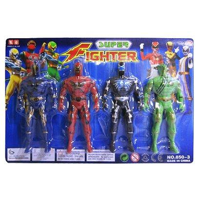 Boneco Herois 4 PCS
