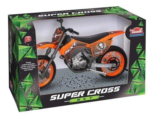 Brinquedo Infantil Moto Super Cross