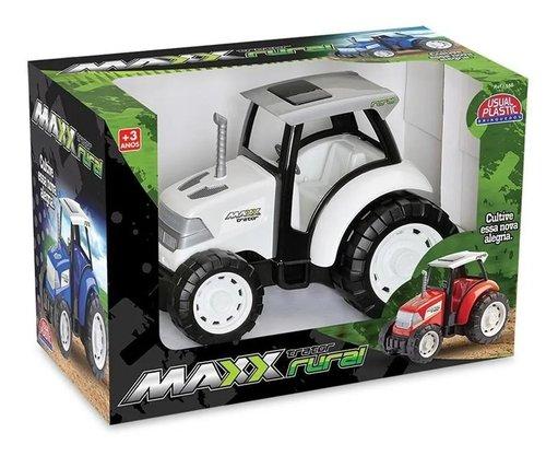Brinquedo Maxx Trator Rural
