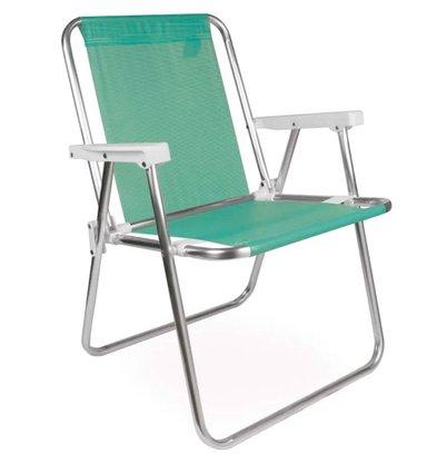 Cadeira Alta Alumínio Sannet Anis
