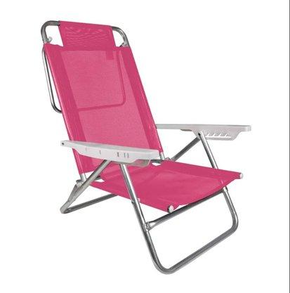 Cadeira Reclinável Summer Pink