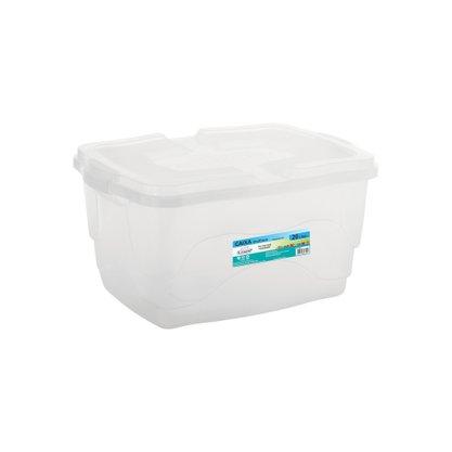 Caixa Plástica Multi-uso 20 litros Transparente