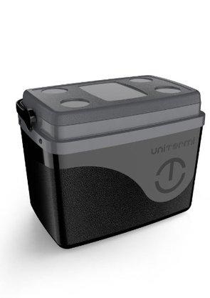 Caixa termica Floripa 7,5 litros preta