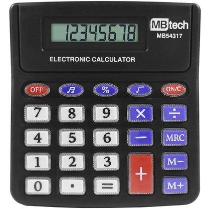 Calculadora Eletronica a Bateria com 8 digitos