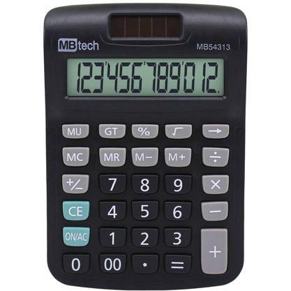 Calculadora Eletronica a Pilha com 12 Digitos