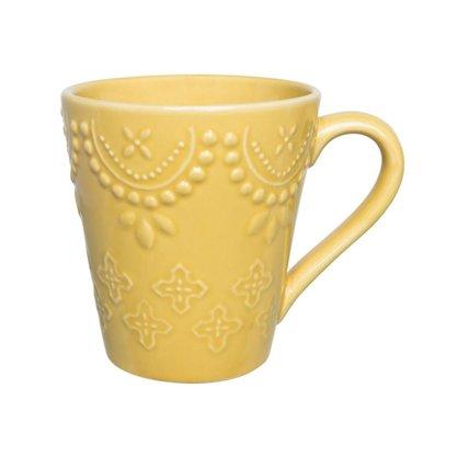 Caneca Dalas 280ML cor Amarelo