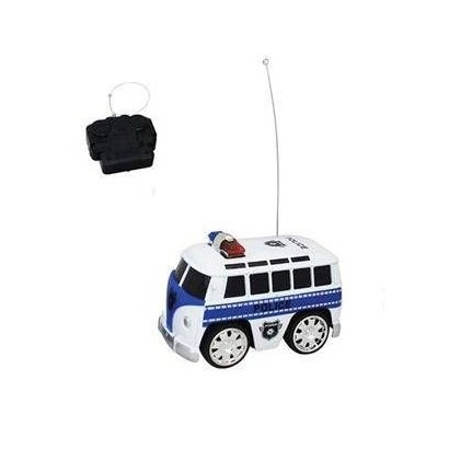 Carro Kombi Policia Controle Remoto