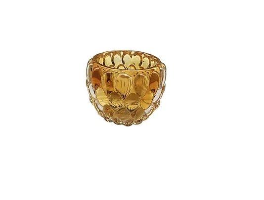 Castical de Vidro 7,5cm x 5,5cm