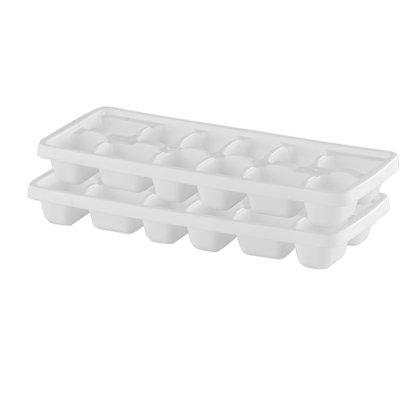 Conjunto com 2 formas para gelo