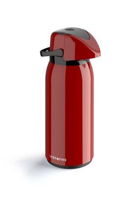 Garrafa termica de mesa pressao Verona 1,8 litros vermelha