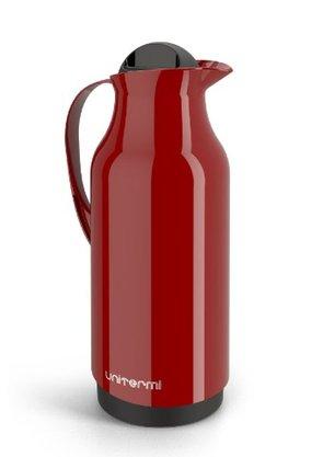 Garrafa Térmica de mesa Siena 1 Litro Cor Vermelho