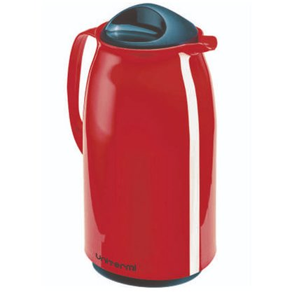 Garrafa Térmica de mesa Veneza 1 Litro Cor Vermelho