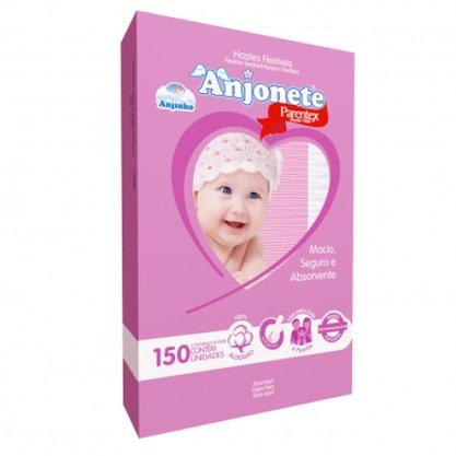 Hastes Flexíveis Anjinho com 150 unidades (Rosa)
