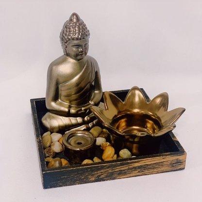 Kit Enfeite Decorativo de Cerâmica 3 peças