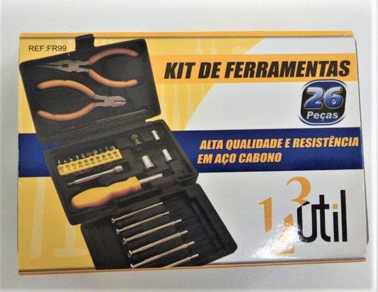 Kit Ferramentas Conjunto com 26 pcs