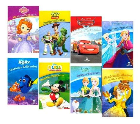 """Livro Avulso - Coleção Disney """"Histórias Brilhantes"""""""