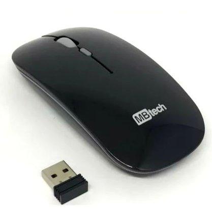 Mouse Optico Sem Fio USB