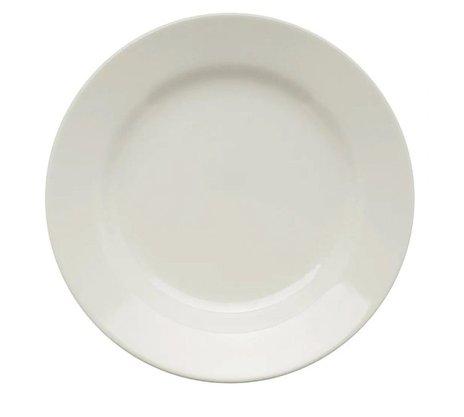 Prato Raso 24 cm Branco 1 peça