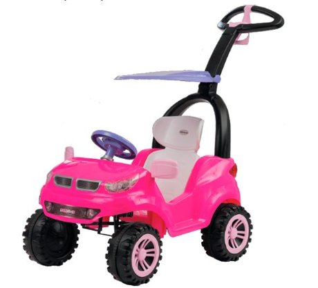 Push Car Easy Ride Rosa