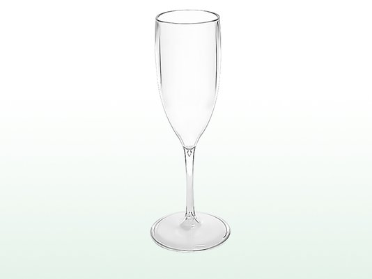 Taça Champanhe Glamour Acrílico 150 ml