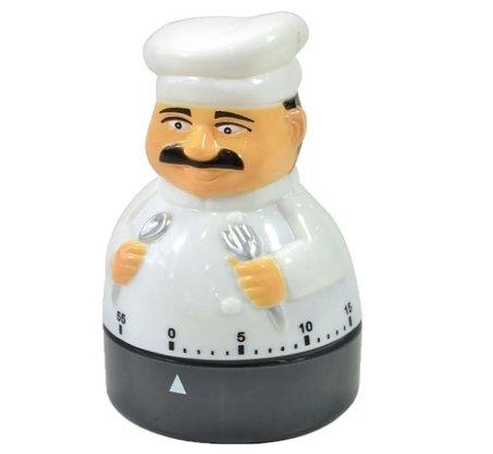 Temporizador Cozinheiro em Plástico