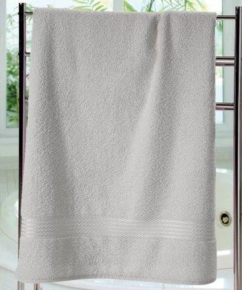 Toalha Banho Prisma Liso 70x140cm Cinza Dohler