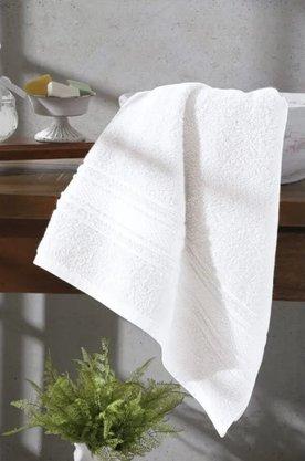 Toalha de Rosto Felpuda Advanced 50cm x 90cm Branco