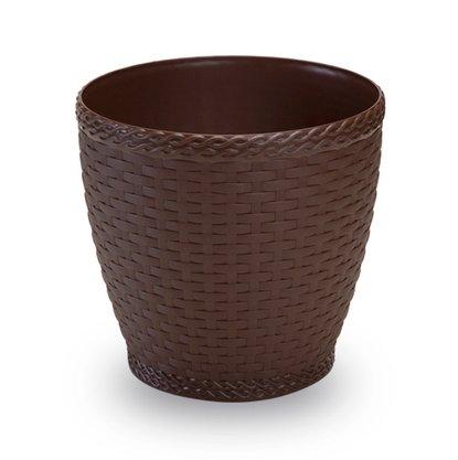 Vaso Rattan 4,6 Litros Coffee
