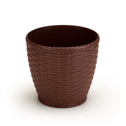Vaso Rattan 22 Litros Coffee