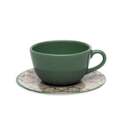 Xícara De Chá 200ML Com Pires Linen