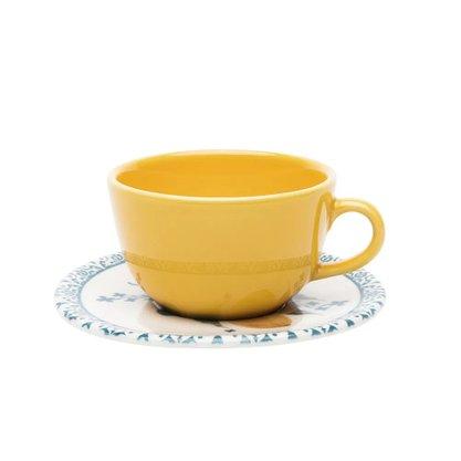 Xícara De Chá 220ML Com Pires Siciliano