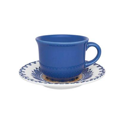 Xícara De Chá Com Pires 15cm La Carreta