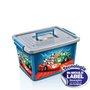Caixa Organizadora Menino 30 Litros Azul
